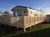 Caravan to hire at Withernsea sands