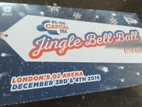 Capital Jingle Ball Ticket for 3rd December 2016