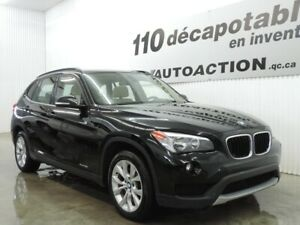 2014 BMW X1 xDrive28i 2.0T CUIR - HITCH - TOIT OUVR PANO - ALARM