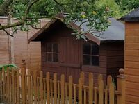 Childs Wooden Playhouse