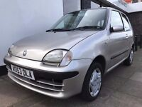 Fiat Seicento 1.1 Active Sport 3dr ONLY 65596 GENUINE MILES