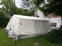 Large Group Mess Tent for groups, Scouts, Guides, Boys Brigade 6 x 4.4m