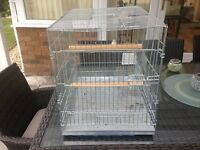 african grey travel cage
