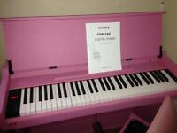 Pink digital piano chase 160