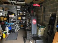 York 2001 Multigym - With 1001 Pec-Mate - Only £40 - excellent condition - buyer collects