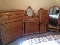 bedroom furniture solid wood