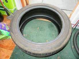 2x bridgestone potenza tyres