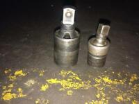 """Snap on 1/2"""" and 3/8"""" universal sockets"""