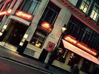 NOW HIRING! BAR STAFF / BAR WAITERS AT SOPHIES COVENT GARDEN.
