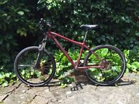 Marin Palisades Trail mountain bike. 17in frame. Road tyres and new brakes. Ideal hybrid bike. ONO