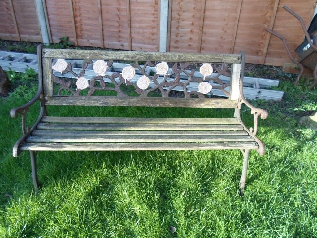 Cast Metal Bench Ends And Back Plate Bench Project In