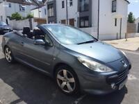 Peugeot 307 cc convertible spares or repairs