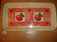 Pretty Melamine Sandwich Tray