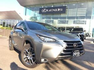 2015 Lexus NX 200t Luxury Pkg Navi Backup Cam Bluetooth Sunroof