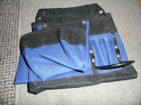 ear defender, tool belt, safety glasses - renovation leftovers