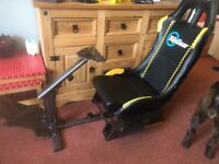 Top gear Playseat Evolution with gear shift holder