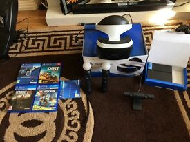 Ps4 vr and gaming chair