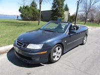2006 Saab 9-3 AERO CONVERTIBLE - CUIR - AUTOMATIQUE