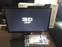 Acer GN246HLBbid 24 inch Wide FHD LED Gaming Monitor144 Hz, 1ms
