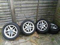 BMW full vehicle set alloy wheel assembly
