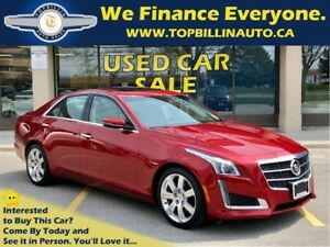2014 Cadillac CTS 3.6L Performance, Navigation, Sunroof 41K kms