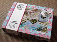 Brand New Kirstie Alsopp glass painting kit