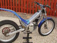 Sherco 250cc 2004 Trials bike