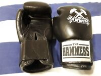 *BRAND NEW* THE HAMMERS boxing gloves 12 OZ