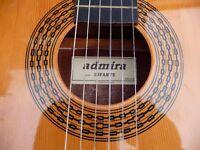Admira Infante acoustic guitar 3/4 size