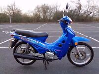 2008 LONCIN LX110 INNOVA ANF COPY SEMI AUTO MOPED MOTORBIKE GWO NEW MOT + TAX V5