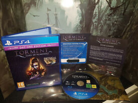 SONY PLAYSTATION PS4 GAME TORMENT TIDES OF NUMENERA DAY ONE EDITION BONUS CONTEN