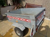 galvanised trailer