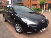 Peugeot 307 1.6 HDi S 5dr,LOW MILEAGE, Full Services history,2 owners,Hpi clear