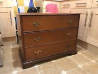 Chest of Drawers x 3