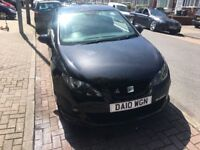 Black seat Ibiza cupra very quick car 180bhp,faultless drive