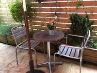Good Condition Solid Outdoor metal chair, suitable for commercial use