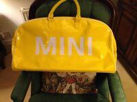 Mini (car) sports/travel bag.