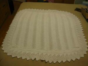 Hand Knitted Baby Blankets (3 colors)