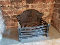 Fire Basket..wrought iron and other open fire accessories