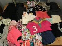 Girls clothes 6-7 50 items