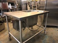 Electric Breading Table only £500 on castors (parts needed)