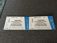 2 X Biffy Clyro Summer Sessions tickets Glasgow Bellahouston Saturday 27th August