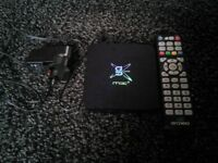 Android box with remote. G-box midnight mx2