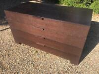 Very good quality chest and bedsides