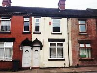 LET BY - 3 BEDROOM - KIRBY STREET - STOKE ON TRENT - LOW RENT - NO DEPOSITS