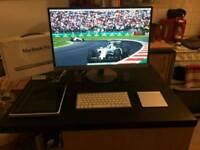 Macbook Pro with Desktop Set Up