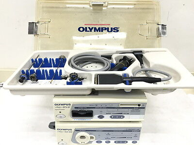 Olympus Arthroscopy System With Otv-s7h-va And Wa70005a Arthroscope 4mm30deg