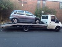 SCRAP CARS, RUNNERS AND NON RUNNERS WANTED. ALSO CAR RECOVERY OFFERED