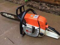 Stihl 038 AV super petrol chainsaw ( serviced)