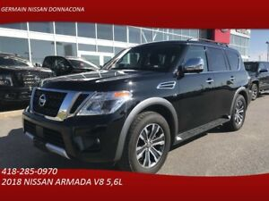 2018 NISSAN ARMADA SL - 8 PASSAGERS - GPS - TOIT OUVRANT * V8 5.